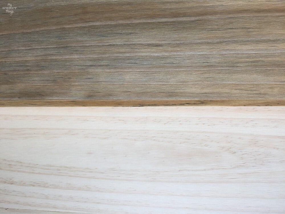 How to dye wood the green way | DIY Inspiration | Ikea lack coffee