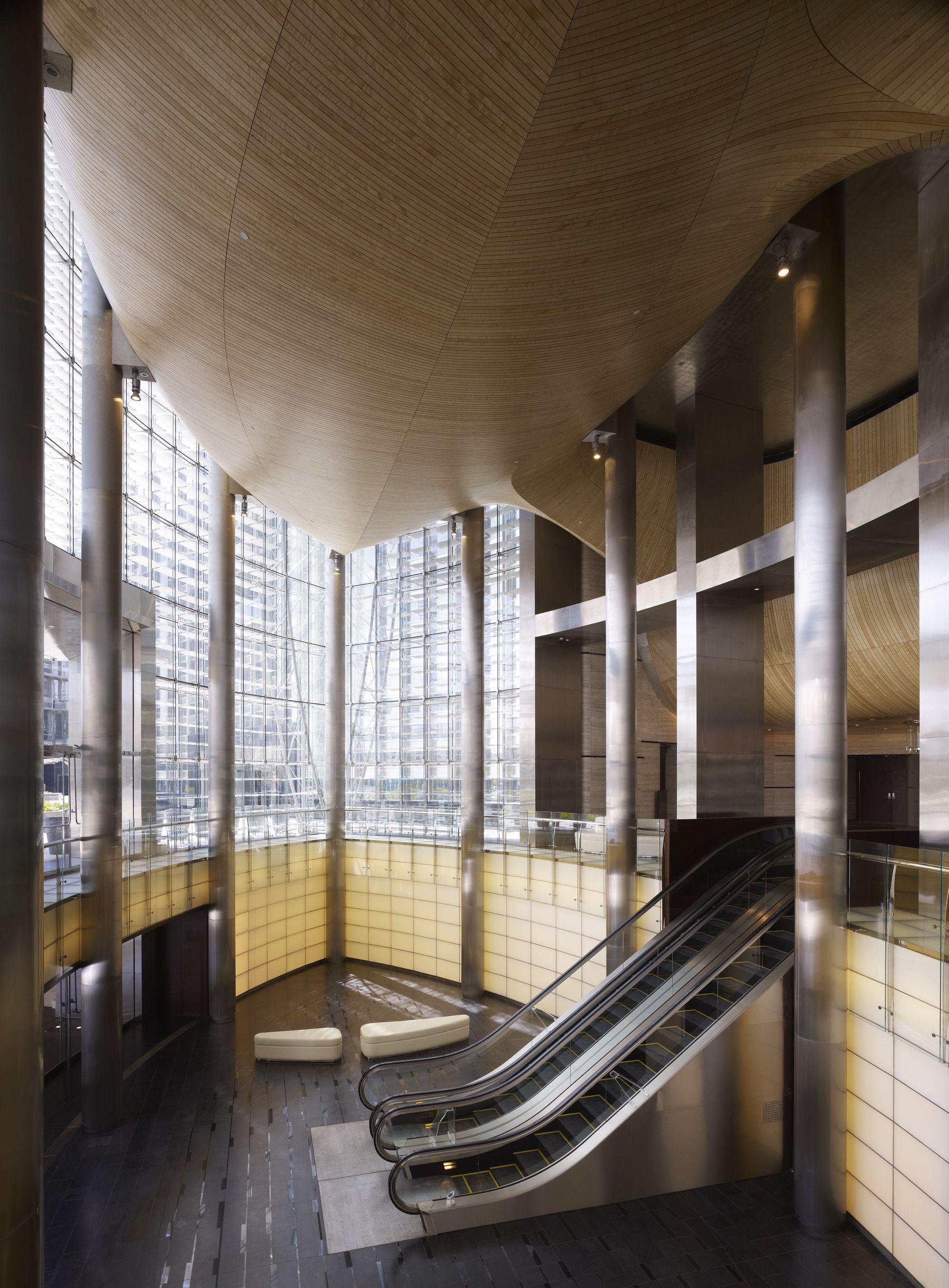 Gallery Of Burj Khalifa Som 33 With Images Atrium Design