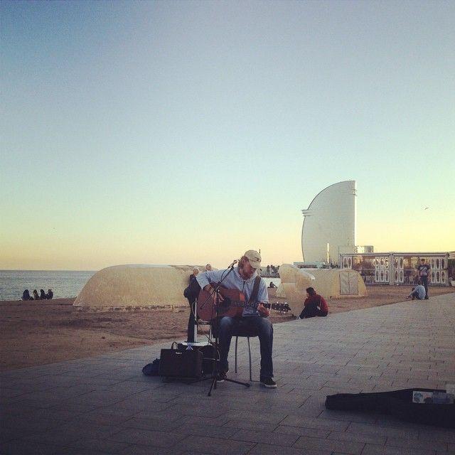 Streetmusic in Barcelona