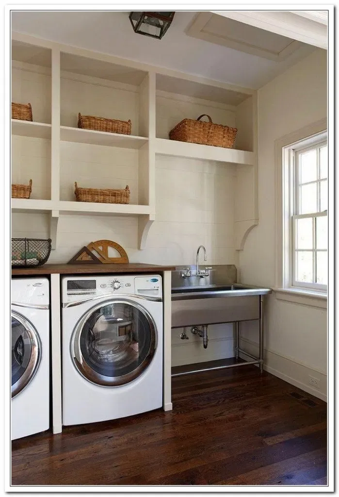 39 Amazingly Inspiring Small Laundry Room Design Ideas For Small