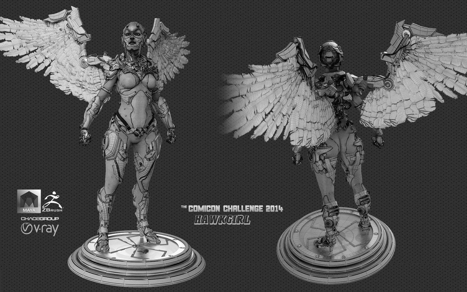 Comicon Challenge 2014|Hawkgirl StandbyCgNara