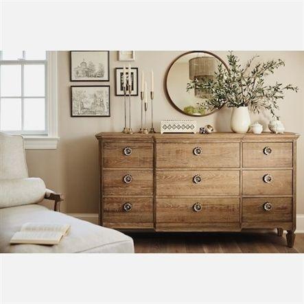 Regents Park Dresser and Mirror - Oak Value City Furniture and