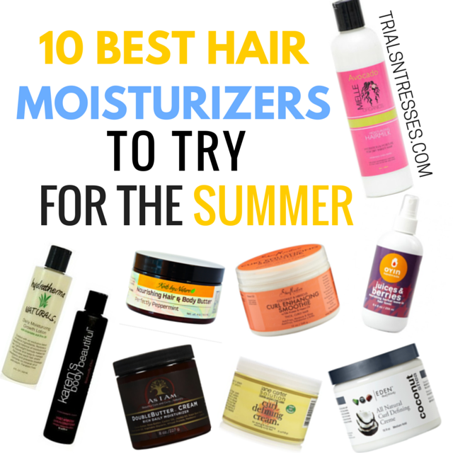 what is the best moisturizer for hair