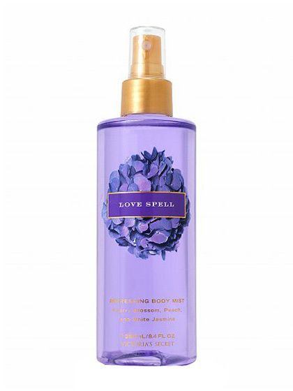 231dbbb6df Victoria s Secret Love Spell Silkening Body Splash Victoria s Secret—especially  in a pre-Pink world—was probably not designed for a ten-year-old to wear.