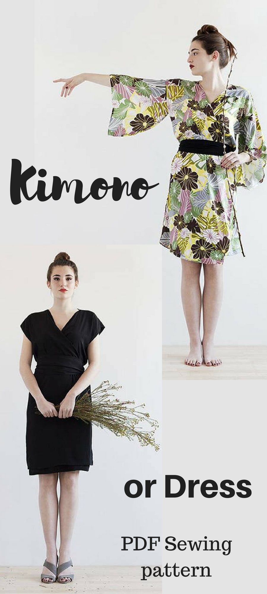 This is the most beautiful dress or kimono sewing pattern in the ...