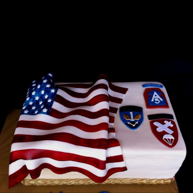 Sheet Cake Birthday Veterans
