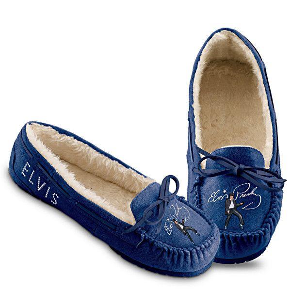 5643e850bb289 Blue Suede Shoes Moccasins | Elvis Presley | Elvis blue suede shoes ...
