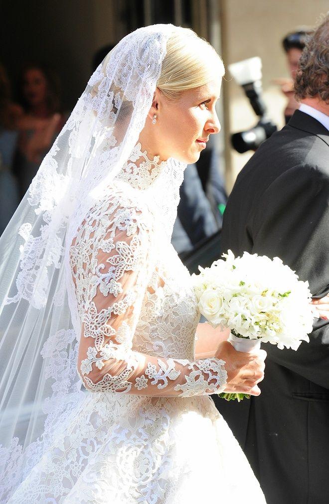 la robe de mariée valentino de nicky hilton | novias famosas