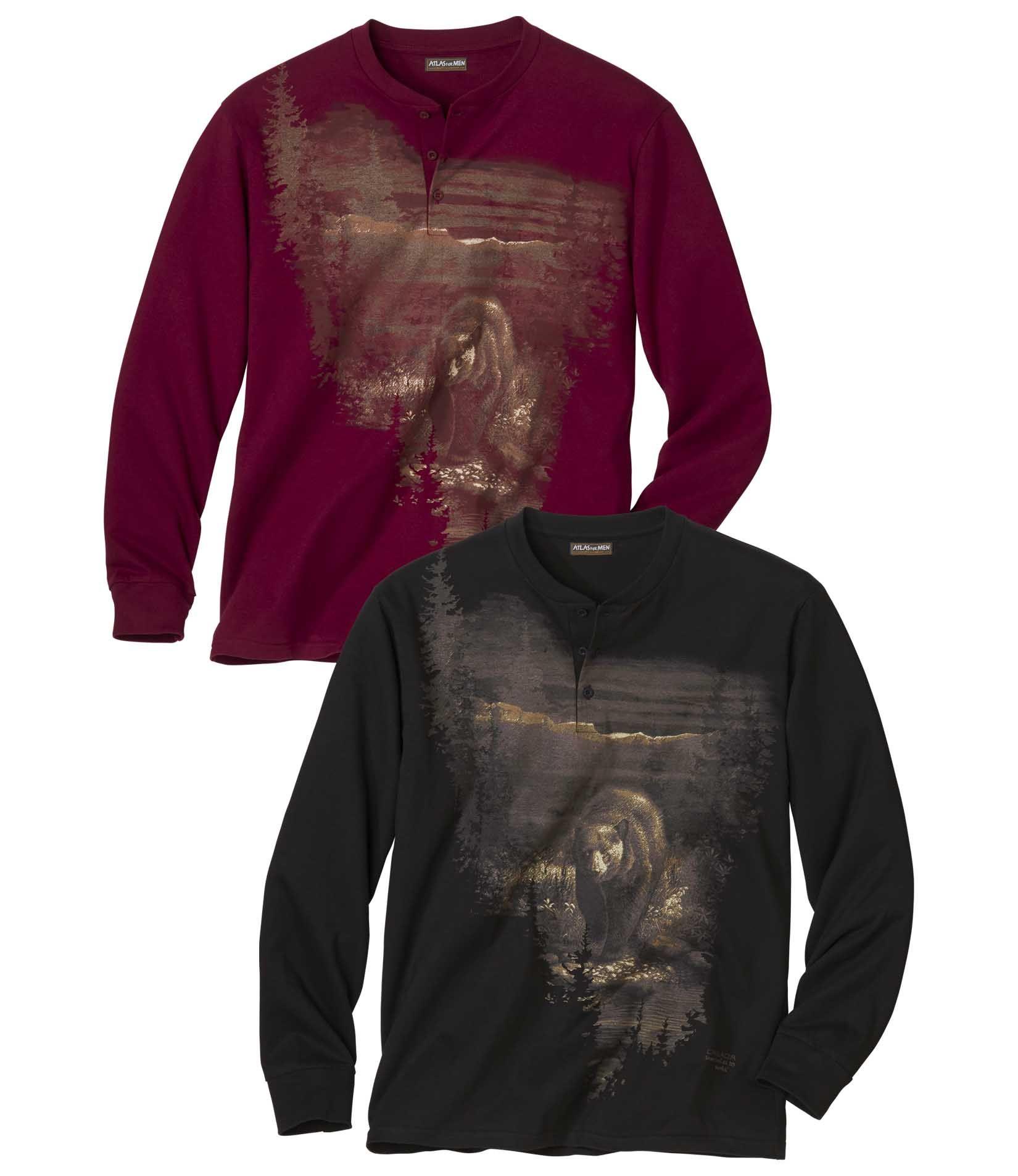 Lot de 2 Tee-shirts Grizzly #discount#promo#atlasformen#formen#