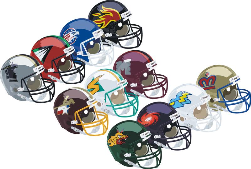 The World League Of American Football Football Helmets World