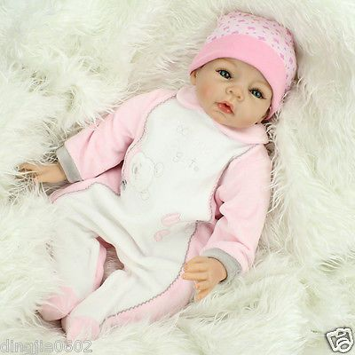 "Lovely smile 22"" #reborn baby dolls real life dolls #handmade #silicone vinyl gif,  View more on the LINK: 	http://www.zeppy.io/product/gb/2/322380586433/"