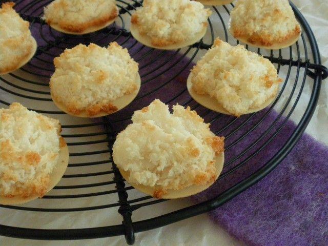 Weihnachtsplätzchen Kokosmakronen.Rezepte Kuchen Plätzchen Vegane Kokosmakronen Ohne Ei Ersatz