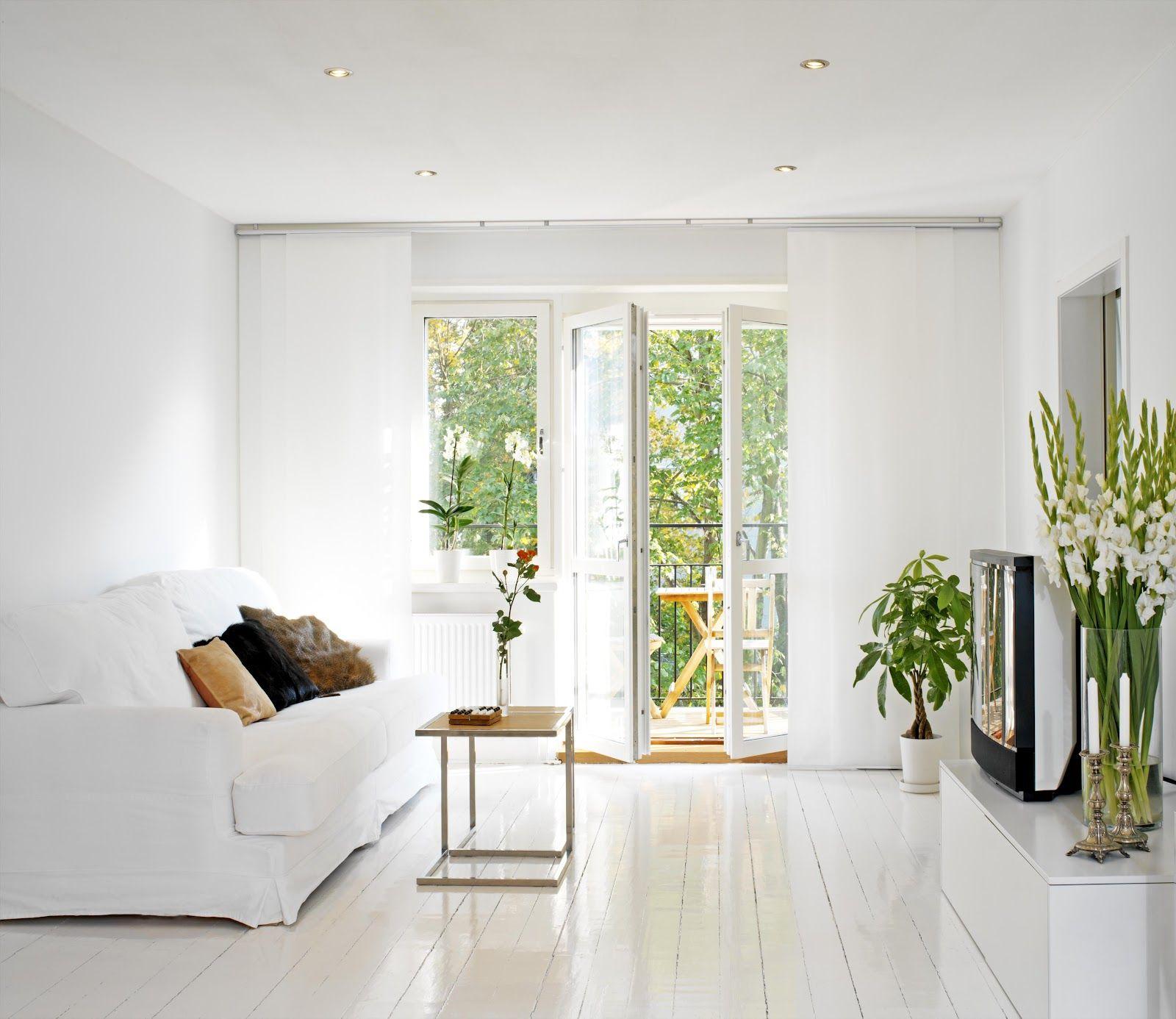 Clean-White-Living-Room.jpg (1600×1386) | Idea | Pinterest | Living ...