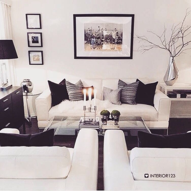 Pinterest Teenvibesonly White Living Room Decor Black And White Living Room Home Living Room