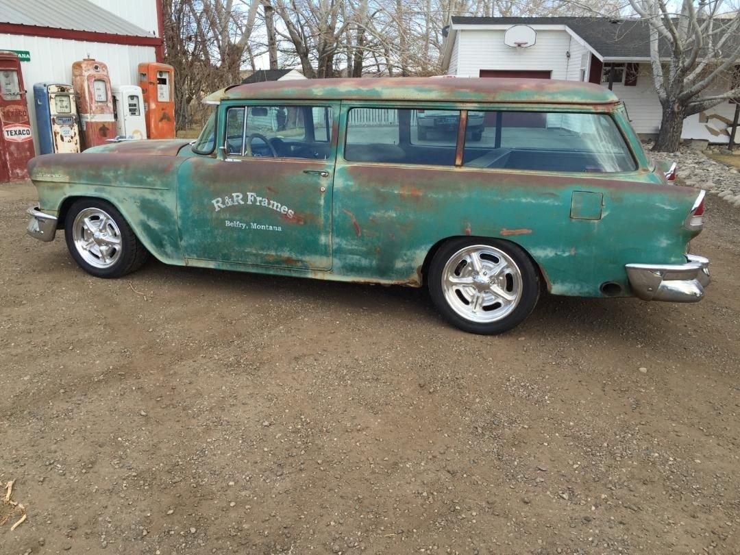 1955 chevrolet handyman 2 door wagon street rod - 55 Handyman Wagon Station Wagonrat Rods1955 Chevroletchevycars