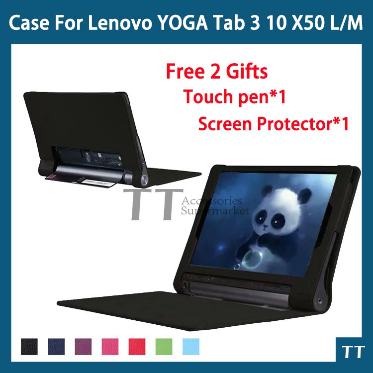 Computers/tablets & Networking Ultra Slim Cover Stand Case For Lenovo Yoga Tab 3 10.1 Yt3-x50f X50l Tablet