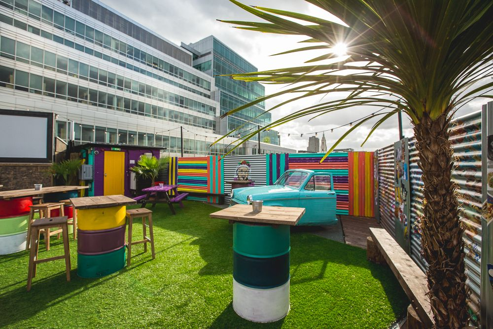 Smokin Gracielas Rooftop Bar 2015 Queen Of Hoxton