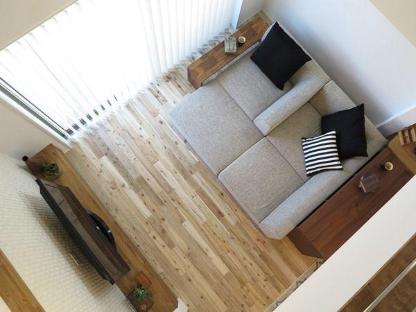 自由な発想でリビングで寛ごう ソファの置き方 リビングテーブルの置き方を提案します ソファ リビングテーブル リビング