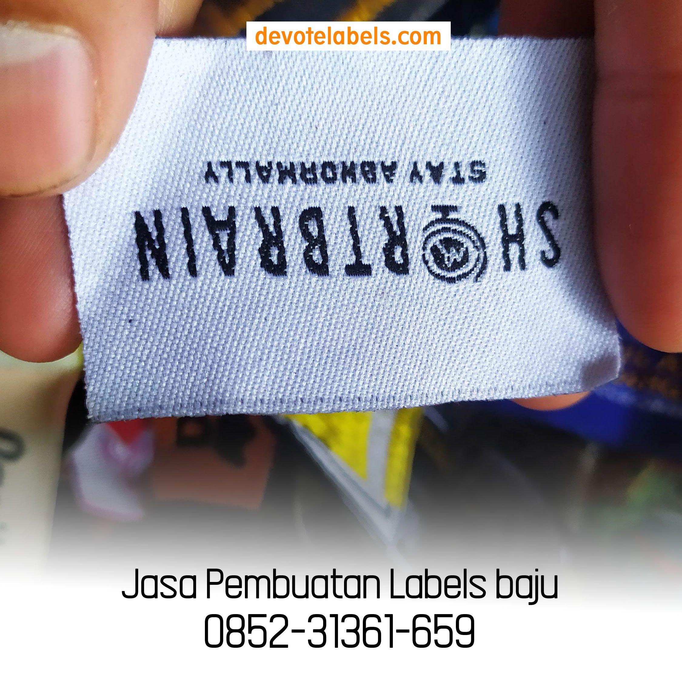 Label Baju Jogja