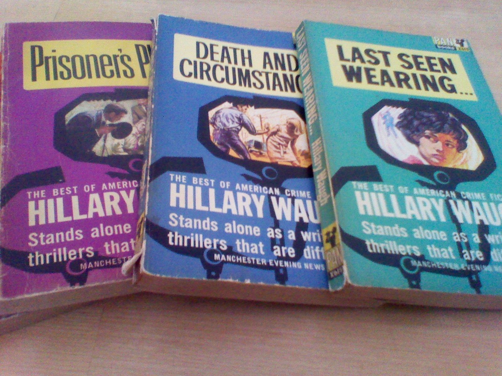 Hillary Waugh Crime Fiction