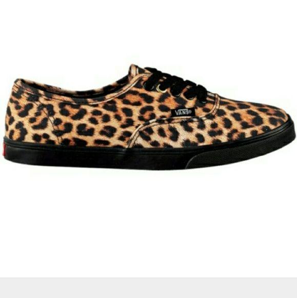 Leopard vans, Leopard print vans