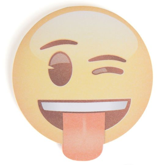 Crazy Emoji Notepad Party Favor