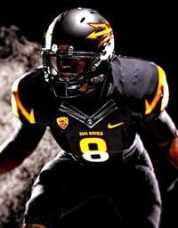 Asu Black Football Uniforms Forever Bleeding Maroon And Gold Asu Football Football Uniforms College Football Uniforms
