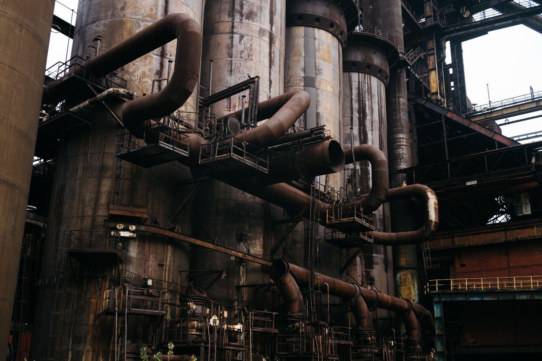 ようこそ、スチームパンクの世界。200年近い歴史のある廃工場