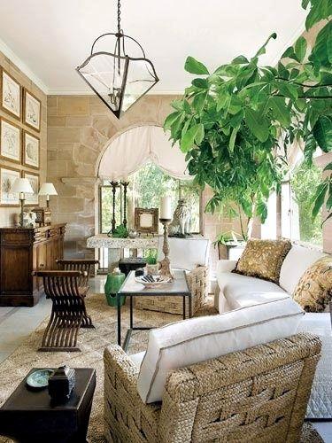 Decorating tips - Decorating ideas for the solarium | decorating ...