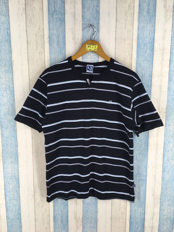 1cfe122ae2 Vintage 90s Hang Ten Tshirt Stripe Colour Design Surf Size Large in 2019