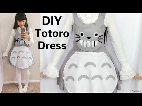 37454e3cd6 DIY  Totoro Inspired Dress
