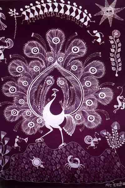 Warli art warli art pinterest paintings folk art and folk information known about warli art tradition design decor disha indian art warli art of maharashtra altavistaventures Image collections