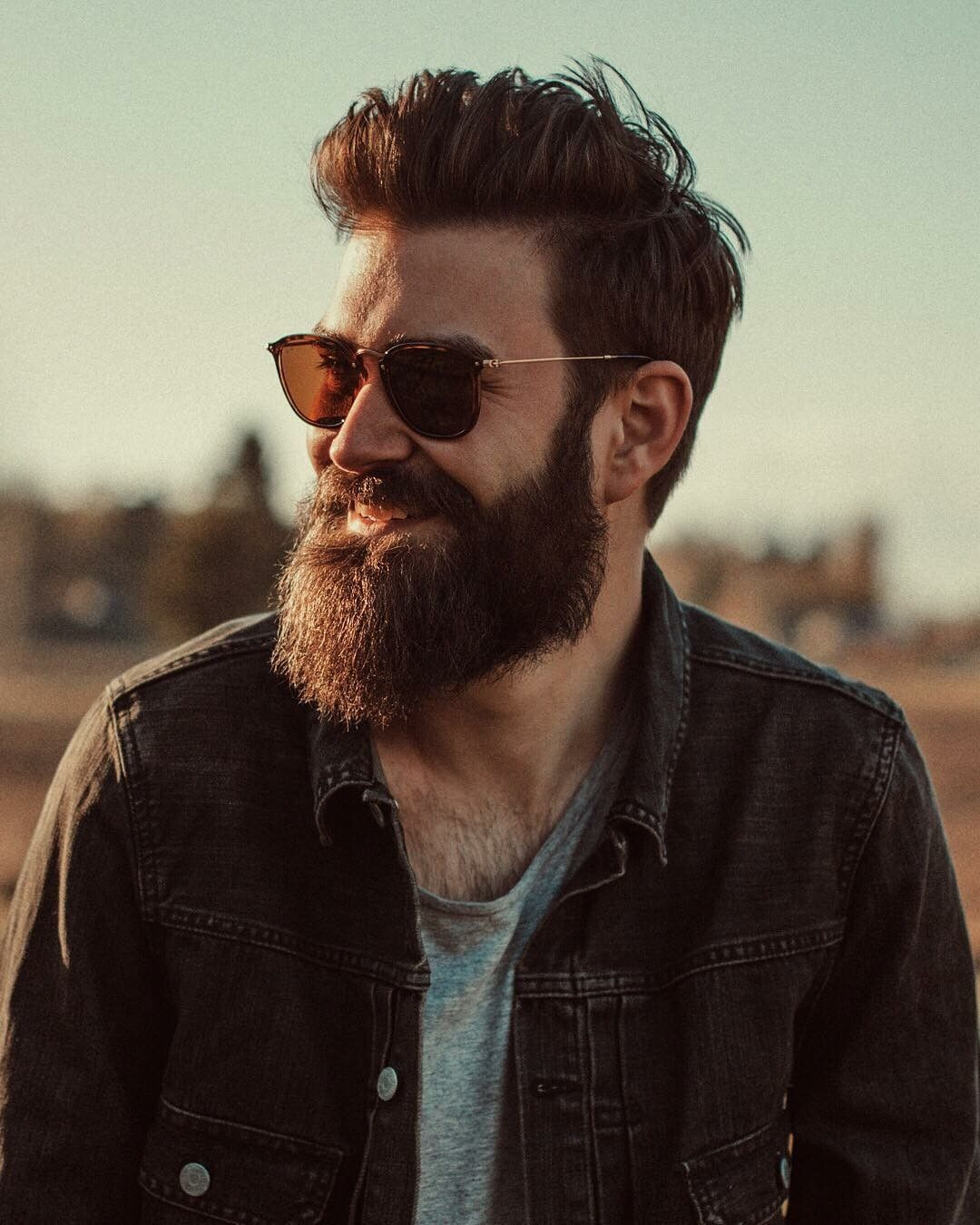 Slacker Black - Beard look for men s   Men s Fashion in 2019 ... dc82f26fe7ab