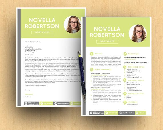 resultly Microsoft word, Letter template word and Cover letter - resume 1 or 2 pages