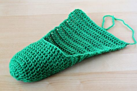 Photo of simple crochet slippers free pattern free tutorial free picture tutorial free pi…