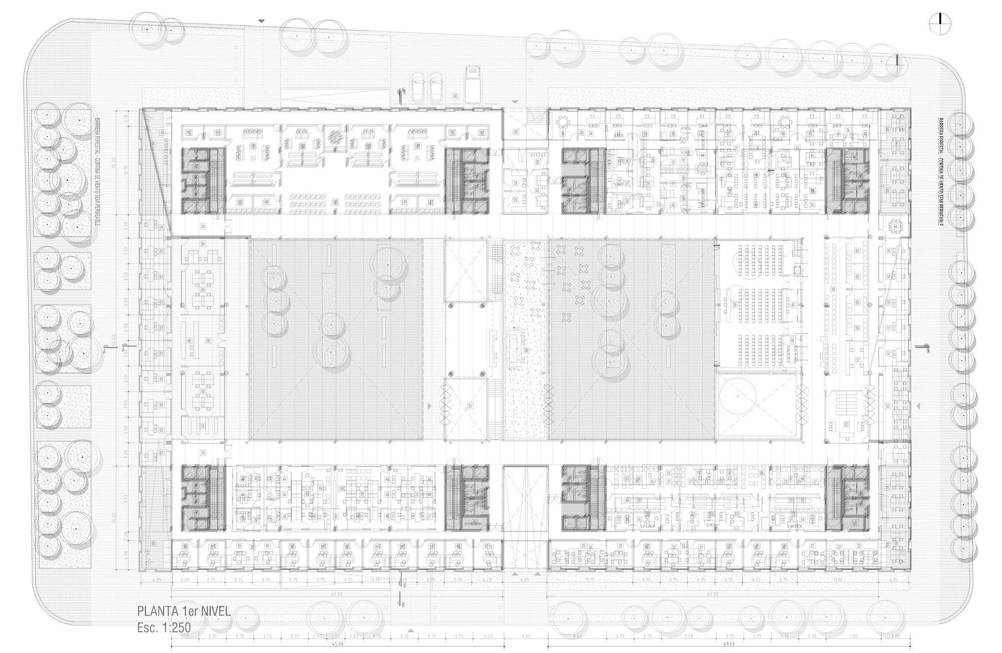 Galería - Primer Lugar en concurso de la Ciudad Judicial en Cipolletti / Argentina - 20