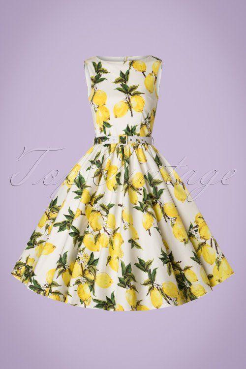 3535db92154759 Lindy Bop Audrey Lemon Print Swing Dress 102 59 21213 20170301 0017W1 50s Audrey  Lemon Swing