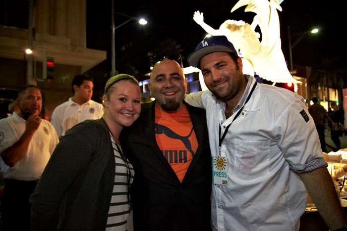 Hanging with Duff Goldman at Desserts After Dark