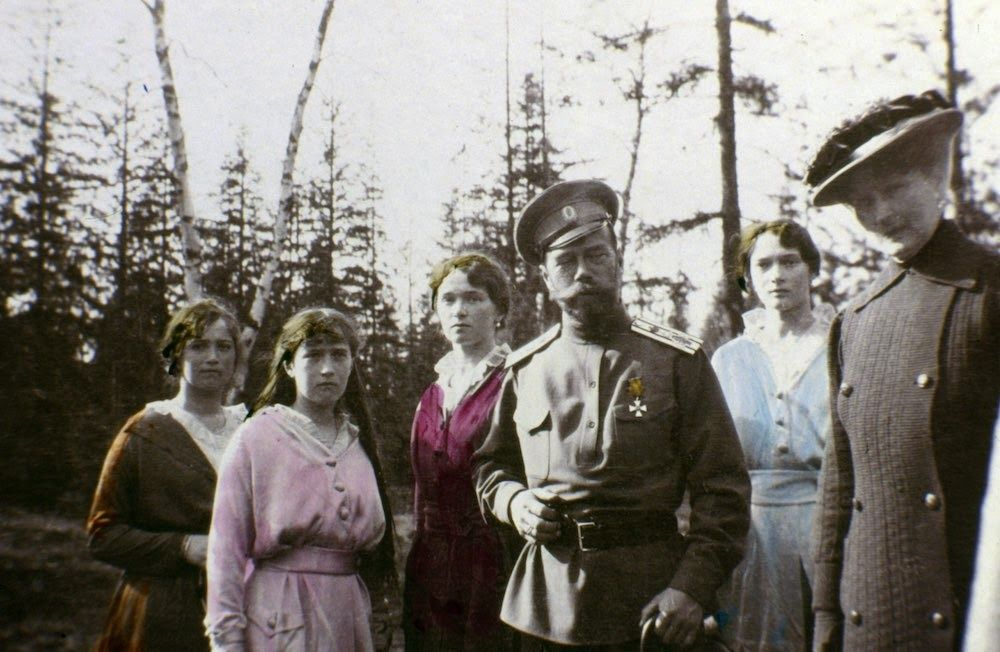 vintage everyday: 15 Rare Pictures of the Romanov Family Shortly before Their Execution, ca. 1915-1916
