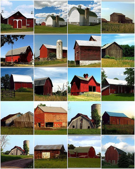 Michigan Barns