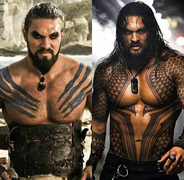 Drogo or Aquaman? Me: Neither. I just want plain JASON MOMOA ...