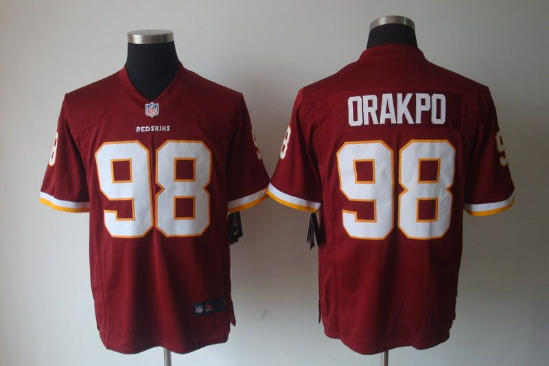 best sneakers 1ae67 0f957 Nike NFL Jerseys Washington Redskins Brian Orakpo #98 Red ...