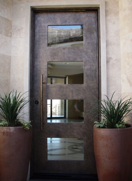 Aria 4 Contemporary Front Doors Austin By Cantera