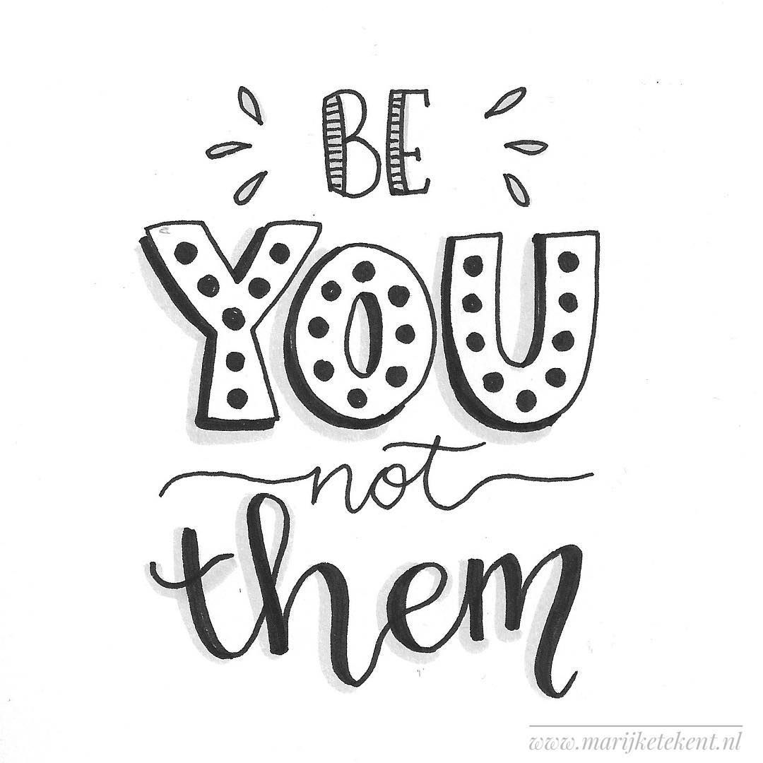 Dag 4  dutchlettering van februari 2018. . . . . . . . . . . .  typography  calligraphy  brushcalligraphy  brushlettering  quote  lettering…