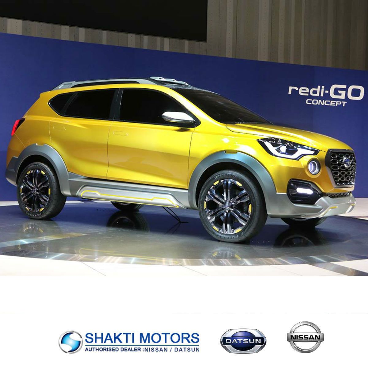 Another 2016 Auto Expo Debutant, the DatsunGOCross is