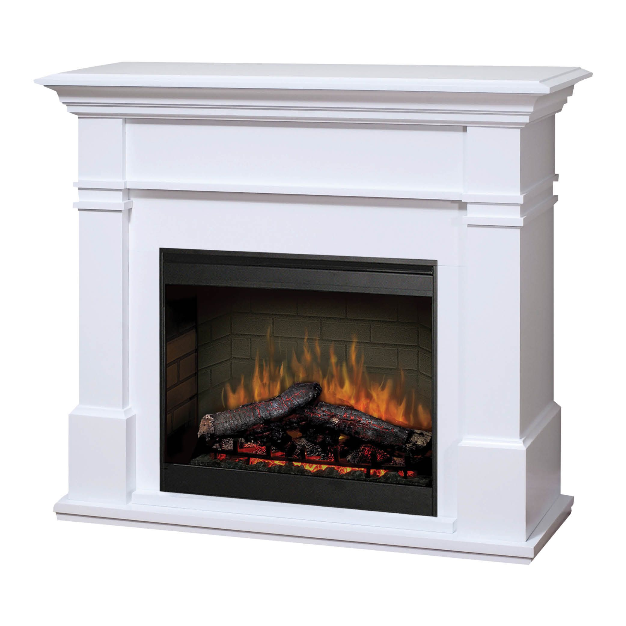 kenton white 2kw electric fireplace with mantel new home rh pinterest com