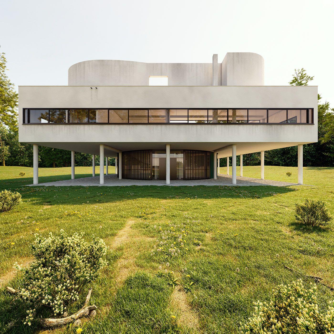 Les Cinq Points De L Architecture Moderne Publies En 1927 Par Le
