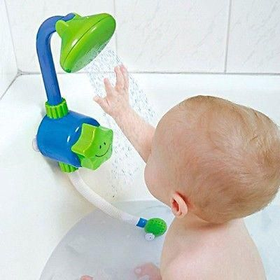 Baby Safe Bath Shower Head Shampoo Rinsing Rinser Shower Heads