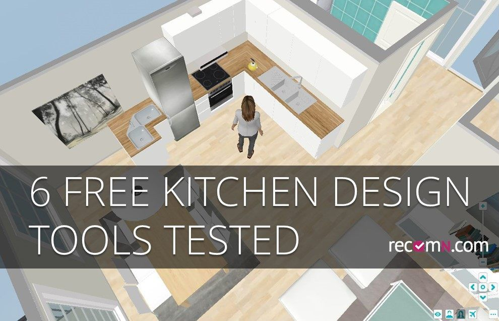 Design Your Kitchen For Free Six Online 48D Tools Tested Home Adorable 3d Design Kitchen Online Free