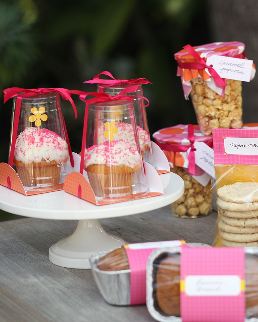 How To Package Food For A Bake Sale Pinteres